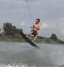 how to jump the wake wakeboarding